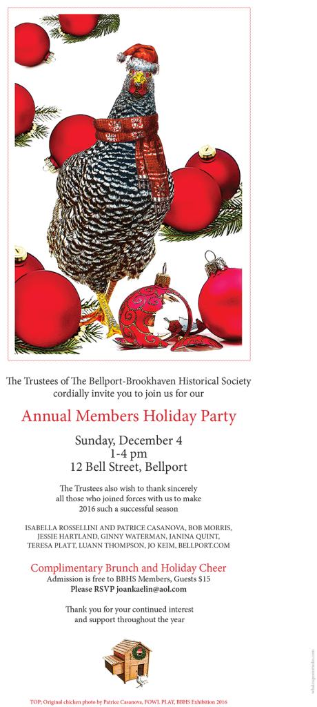 BBHS HOLIDAY INVITATION 2016